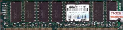 NoName PC-2100 512MB DDR1 266MHz Arbeitsspeicher DDR RAM diverse Marken* r180