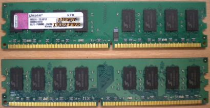 Kingston KFJ2888 2G PC2-4200U 2GB DDR2 533MHz 9905230-021 A02LF RAM* r188