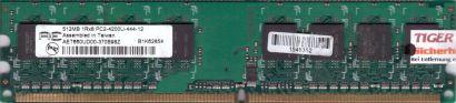 Aeneon AET660UD00-370B98Z PC2-4200 512MB DDR2 533MHz Arbeitsspeicher RAM* r211