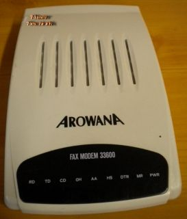 AROWANA FAX MODEM 33.6 Kbps 33600 BT-336SAR* nw355
