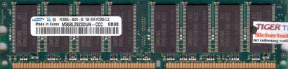 Samsung M368L2923DUN-CCC PC-3200 1GB DDR1 400MHz Arbeitsspeicher RAM* r213