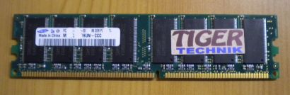 Samsung M368L6423HUN-CCC PC3200U-30331-E0 CL3 512MB DDR1 400MH RAM* r214