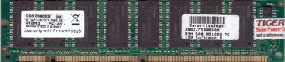 NoName PC133 512MB SDRAM 133MHz Arbeitsspeicher SD RAM mit Infineon Chips* r229