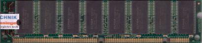 B6986RA NoName PC133 256MB SD RAM 133MHz mit Elpida Chips Arbeitsspeicher* r230