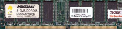 Samsung M368L6423FTN-CCC PC3200 CL3 512MB DDR1 400MHz Arbeitsspeicher* r238