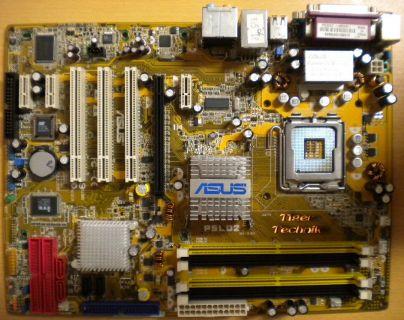 ASUS P5LD2 AiLife Series i945P Rev 2.01G LGA775 ATX Motherboard + Blende* m424