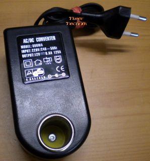800MA AC DC Converter 12V 0.8A 12VA Netzteil* nt777