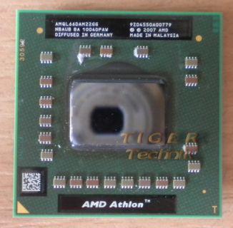 Notebook CPU Prozessor AMD Athlon X2 QL-66 AMQL66DAM22GG 2x2.2GHz Sockel S1*c222