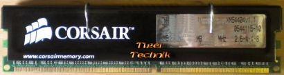 Corsair CMX1024-3200C2 PC3200 CL2 1GB DDR1 400MHz XMS3200 Arbeitsspeicher* r257