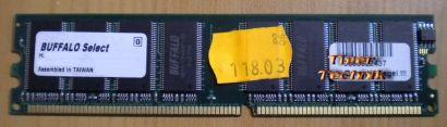 Buffalo DD4002-S512 BJ PC3200U-25330-A1 512MB DDR SDRAM 400MHz non ECC RAM* r261