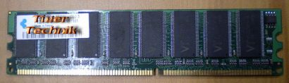 VT VT3225804T-5 PC3200U-25330 CL2 5 512MB DDR1 400MHz Arbeitsspeicher* r262
