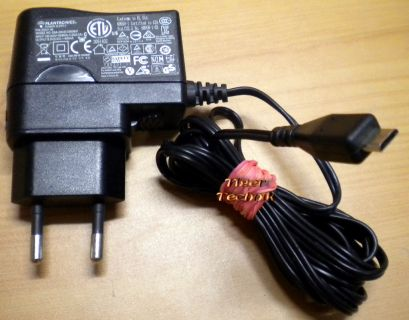 Plantronics SSA-3W-05050060F PN 83231-04 5V 600mA Micro USB Charger* nt791