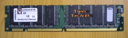 Kingston KVR133X64C3 256 PC133 256MB SDRAM 133MHz 9905220-006 A00LF RAM* r269