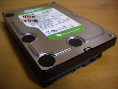 Western Digital Green WD20ERAS-00MVWB0 SATA 2TB 2000GB Festplatte* f608