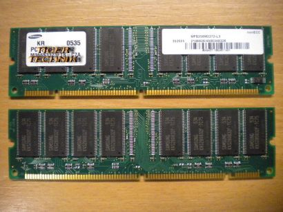 Samsung M366S6453DTS-C7A PC133U-333-542 0216 512MB SDRAM 133MHz RAM* r285