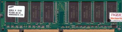 Samsung M366S3253CTS-C7A PC133 256MB SDRAM 133MHz Arbeitsspeicher SD RAM* r287