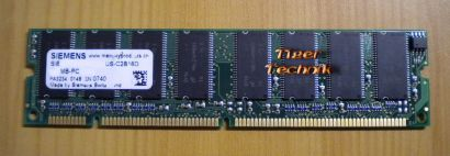 Siemens SIE3264133G07MT-US-C2B16D 0148  PC133 256MB SDRAM 133MHz RAM* r288