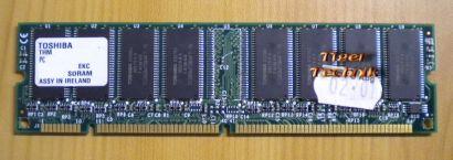 Toshiba THMY25N01A-75 PC133U-333-542-Z 256MB SDRAM 133MHz Arbeitsspeicher* r297