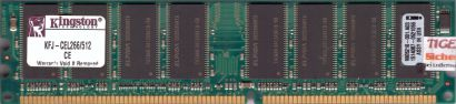 Kingston KFJ-CEL266 512 PC-2100 512MB DDR1 266MHz 9905216-001 A03 RAM* r301