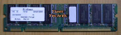 Infineon HYB39S256800CT-7.5 0132 PC133 512MB SDRAM 133MHz RAM* r302