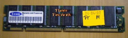 Team TG256M97418375DMRC PC133 256MB SDRAM 133MHz RAM* r307
