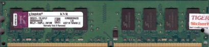 Kingston KVR800D2N6 2G PC2-6400 2GB DDR2 800MHz 9905316-193 A01LF RAM* r314