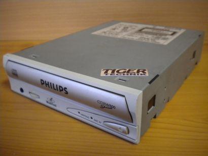 Philips PCRW804 CDRW800 Series CD-RW Brenner ATAPI IDE weiss silber* L313