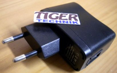 TJ-B908 Courier Charger 5.0V 500mA Netzteil* nt853