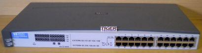 HP J3295A ProCurve 10 100Mbit 24port Fast Ethernet Netzwerk Hub* nw501