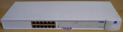 3Com Super Stack II Baseline Hub 3C16440 12-Port Ethernet Netzwerk Hub* nw505
