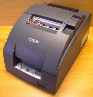 EPSON TM-U220D M188D RS-232 Bondrucker Thermal Printer schwarz* dr01
