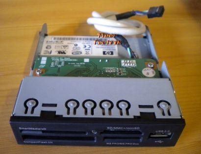 HP CR504U2 405955-003 432548-001 USB Computer Kartenlesegerät schwarz* kl17