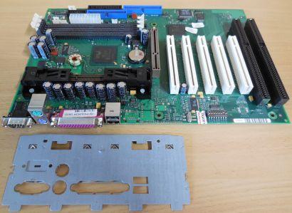 FSC D1107-B11 GS 2 Mainboard + Blende 2x ISA Slot 1 Intel 440BX AGP PCI* m655