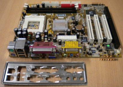 Jetway 603TCFL Mainboard + Blende Sockel 370 Tualatin Support 1x ISA LAN* m203
