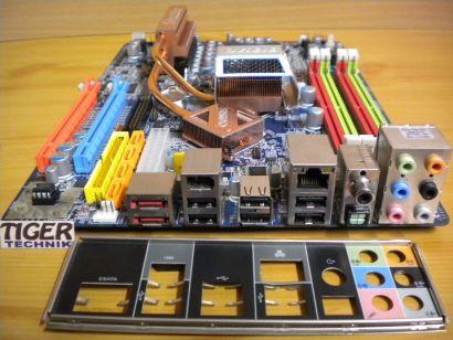 Shuttle XPC SX38P2 Pro Mainboard FX38(S5111) V1.5 +Blende 2x PCIe x16 SATA* m662