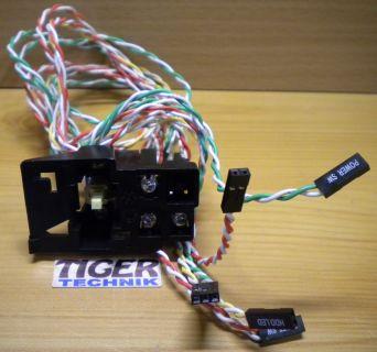 4MBO Solteam PS3-22SP Power Reset Schalter HDD LAN Power LED Halterung* pz162