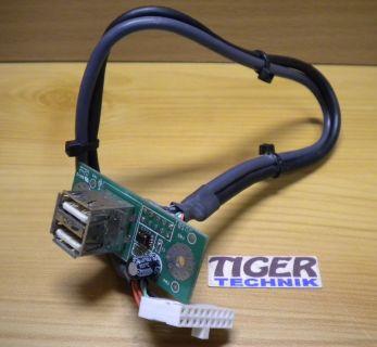 HP Pavilion PC A7 a595 2x USB 2.0 Front IO Anschlüsse* pz178
