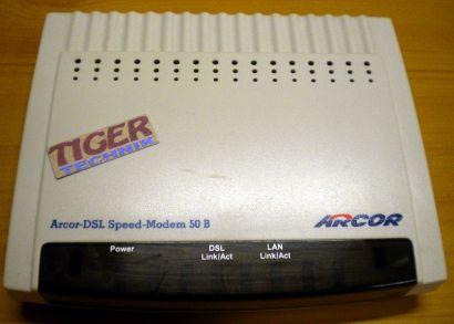Arcor DSL Speed Modem 50 B ADSL Model Ethernet Annex B* nw408