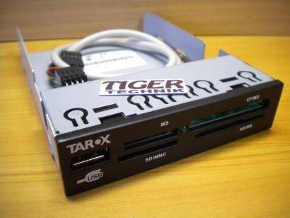 TAROX TR 2016 ML-TX TOP READER R83034 USB MS SD CF Kartenlesegerät schwarz* kl22