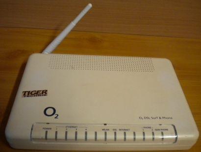 ZyXel o2 DSL Surf & Phone P-2602HWL-D7A Wireless ADSL2+ VoIP IAD* nw417