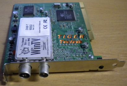 Hauppauge WinTV DVB-T 90002 Rev C176 PCI TV Capture Card Karte* tk16