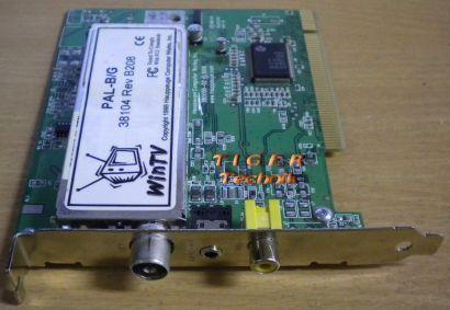 Hauppauge WinTV PAL-B G 38104 Rev B208 TV Karte* tk19