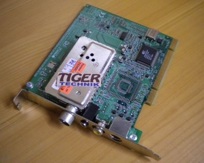 Pinnacle Systems ROB2D-51009464-4.0 COMP S-VIDEO PCI TV Tuner Karte* tk22