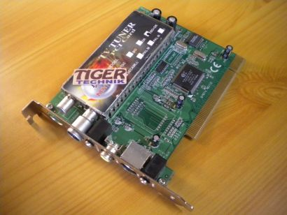 MENTOR TV 99 EU BG+DK TV Tuner Card Karte PCI FM TV S-VHS* tk25