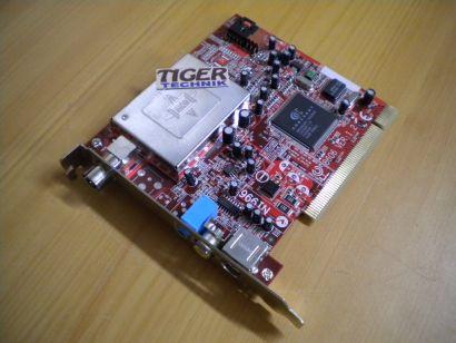 MSI MS-8606 Ver. 1.2 Mega TV Master Anywhere TV Tuner Karte PCI* tk29