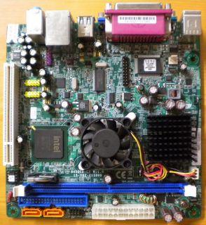 ECS 945GCD-CI V1.0 Mainboard +Blende Intel ATOM 1.60 GHz CPU VGA LAN Audio* m684