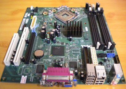 Dell Optiplex GX620 Mainboard 0F8096 Rev A01 Sockel 775 Intel 945G PCIe* m686