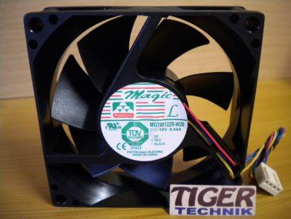 Cooler Master Magic MGT8012ZR-W25 80mm 4-pol 12V 0.54A Gehäuse Lüfter Fan* gl04