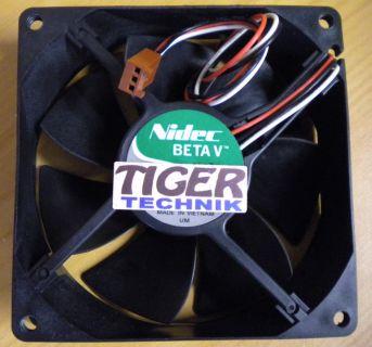 Nidec BETA V TA350DC L34880-58 282317-001 12V DC 0.27A 92mm Gehäuse Lüfter* gl06