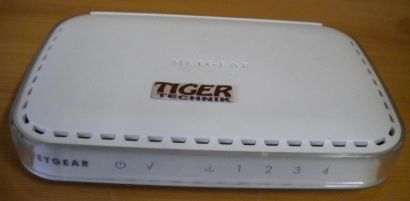 Netgear RP614 v3 Cable DSL Web Safe Router 4x Port* nw443